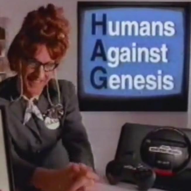 You look familiar, Madame HAG